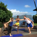 Yoga at Paradise Bay Resort with Maximus