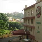 View of main building from accommodation annexe