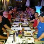BBQ nite by the pool - really popular and a great crowd from all over Europe