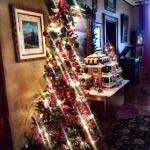 The gorgeous Reynold's Mansion at Christmas!