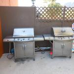 BBQs for guests by the pool