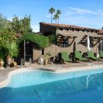 Ranch Hacienda, walk out the gate right into the pool!