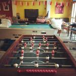 Enjoy our entertainment centre; TV, Nintendo WII, Pool Table, popular board games and ethnic gam