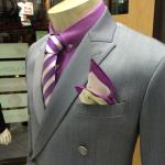 Double brested TOM FORD style at our new window display.
