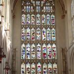 Bath Cathedral Stain Glass Window