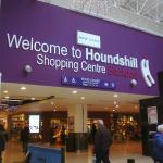 Hounds Hill Shopping Blackpool.
