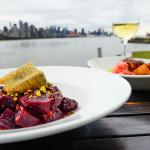 Roasted Beets, toasted pistachios, fried Humboldt Fog Cheese, Aged Cabernet vinaigrette