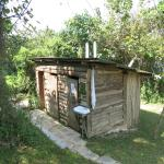 Bathroom hut