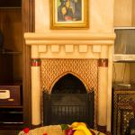 Fireplace in Deluxe Room Marjana