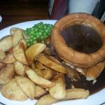 Steak pie. 'Proper' Yorkshire!