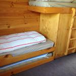 Bunk beds in second room