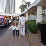 Elvis and his littlest fans at Westgate