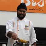 Our friendly chef Hardev