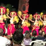 Dancers at the Chiefs Luau