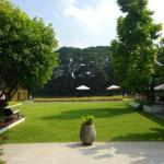 Courtyard at Aruntara Riverside Boutique Hotel