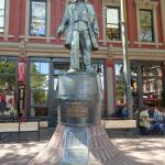 Gassy Jack - a famous 19th Century character of Gastown