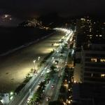 Rio's night view from top floor