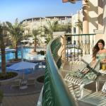 View of the swimming pool Falaj
