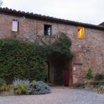 The entrance to the Agriturismo Marciano