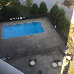 Outdoor pool in late November