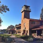 Paso Robles Inn from the front sidewalk.  A perfect central location across from the town's main