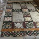 Even the floors are beautiful and have special significance