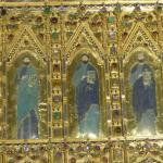A small part of the other side of the altar piece