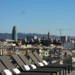 Barcelona from Hotel roof