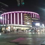 Madison square garden across the road