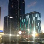 Evening shot of the hotel