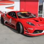 Ferrari 430GT race car.