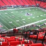 View from our seat, Section 302, Row 17