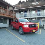 Red Ford Rental at Russian
