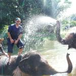 Baachang Elephant Park...ask for 'Aof' as your tour guide!