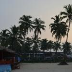 Early Morning View of Resort from Beach (with Shack)