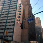 A view of the hotel looking south on Lex. Note the Chrysler building.