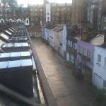 View from room 205 towards mews