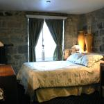 Classic Room with Stone Wall
