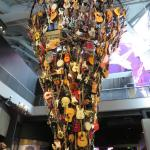 A guitar shrine for the ones left behind