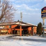 Best Western Brossard on a Chilly Nov Morning