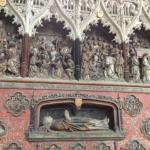 Amiens Cathedral - One of the tombs
