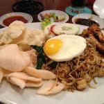 Mie Goreng - salty and oily