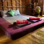 Tribal hut double bed