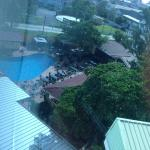 the pool - pic taken from my room