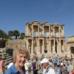 Myself at the Library at Ephesus