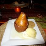 Prepared Pear plus for dessert