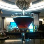 The Bar serves a Perfect Manhattan