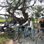 Bicycle ride in the Village