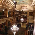 Lobby from the mezzanine