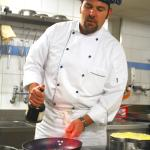 Kitchen chef and co-owner Thomas Galliker